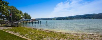 Isla de Reichenau - el lago de Constanza, Baden-wurttemberg, alemana Imagen de archivo