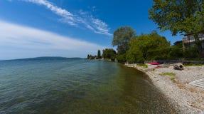 Isla de Reichenau - el lago de Constanza, Baden-wurttemberg, alemana Foto de archivo libre de regalías