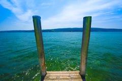 Isla de Reichenau - el lago de Constanza, Baden-wurttemberg, alemana Fotos de archivo