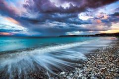Isla de Rodas, Grecia Imagenes de archivo