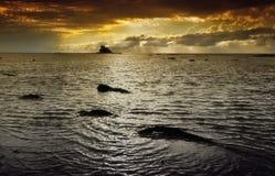 Isla de ROL Labuan Fotos de archivo libres de regalías