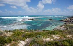 Isla de Rottnest: Belleza sin tocar Imagen de archivo libre de regalías