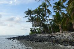Isla de Samber Gelap, Kotabaru, Borneo del sur, Indonesia foto de archivo