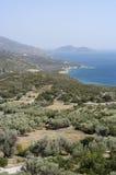 Isla de Samos Fotografía de archivo