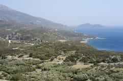 Isla de Samos Foto de archivo libre de regalías