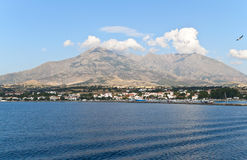 Isla de Samothraki en Grecia Imagen de archivo libre de regalías