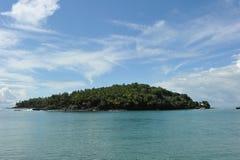 Isla de San José, la Guayana Francesa Fotografía de archivo