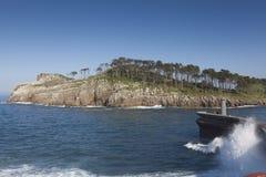 Isla de San Nicolas Fotos de archivo