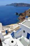Isla de Santorini Imagenes de archivo