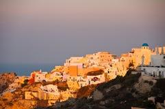 Isla de Santorini Fotos de archivo libres de regalías