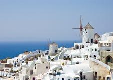 Isla de Santorini Fotografía de archivo libre de regalías