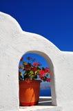 Isla de Santorini, Grecia Imagenes de archivo