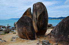 Isla de Sanya imagenes de archivo