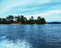 Isla de Sapi, Sabah Malaysia foto de archivo libre de regalías