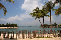 Isla de Sentosa, Singapur imagenes de archivo