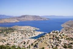 Isla de Simi - Grecia fotografía de archivo
