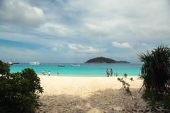 Isla de Similan Imágenes de archivo libres de regalías