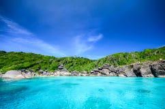 Isla de Similan Foto de archivo libre de regalías