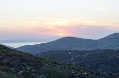 Isla de Sithonia del Griego Foto de archivo libre de regalías