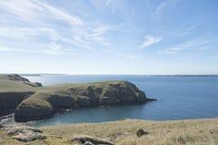 Isla de Skomer Foto de archivo libre de regalías