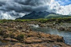 Isla de Skye Mountain Fotos de archivo