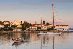Isla de Spetses imagenes de archivo