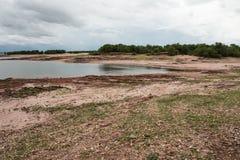 Isla de Spurwing, lago Kariba Fotos de archivo libres de regalías