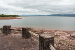 Isla de Spurwing, lago Kariba Fotos de archivo