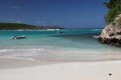 Isla de St Barthelemy, del Caribe Fotografía de archivo