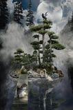Isla de sueños Foto de archivo libre de regalías