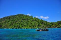 Isla de Surin que sorprende, Tailandia Imagenes de archivo