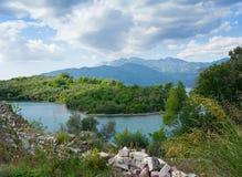 Isla de Sveti Marko, Montenegro Imagen de archivo libre de regalías