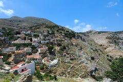 Isla de Symi en Grecia Fotografía de archivo