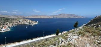 Isla de Symi en Grecia Fotos de archivo