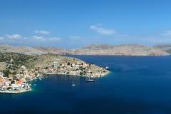 Isla de Symi en Grecia Foto de archivo