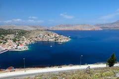 Isla de Symi en Grecia Fotografía de archivo libre de regalías