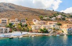 Isla de Symi Grecia Fotografía de archivo libre de regalías