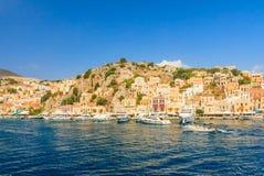 Isla de Symi Grecia Imagen de archivo