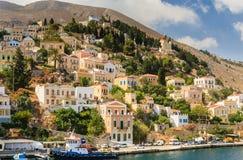 Isla de Symi Grecia Foto de archivo