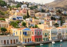 Isla de Symi Grecia Fotos de archivo libres de regalías