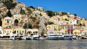 Isla de Symi, Grecia Imágenes de archivo libres de regalías