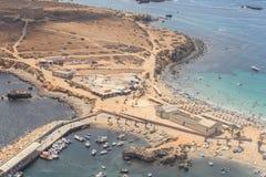 Isla de Tabarca en Alicante, España Imagenes de archivo