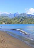 Isla de Tahití imagen de archivo