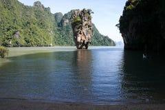 Isla de Tapoo meridional de Tailandia Imagen de archivo