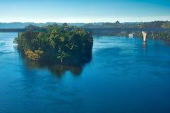 Isla de Tennessee River Fotos de archivo libres de regalías