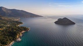 Isla de Thassos, Grecia Imágenes de archivo libres de regalías