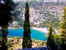Isla de Thassos, Grecia Imagen de archivo libre de regalías