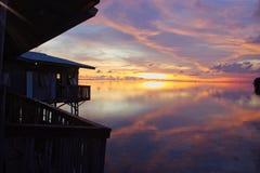 Isla de Tidung Imagenes de archivo