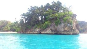 Isla de Tilanchong Foto de archivo