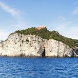 Isla de Tino Foto de archivo